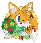 Tails with Flowers