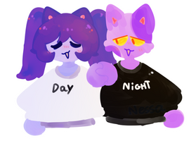 Day And Night by Glittxrii