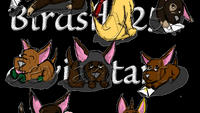 The Original Table Clan as Chihuahuas by Birdsfly25