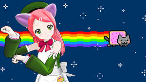 -MMD- The Vocalist of Nyan Cat