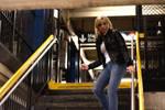 Aya Brea Chases Eve in NY