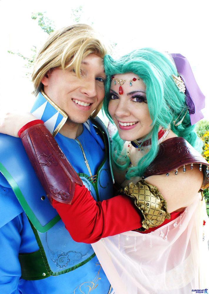 Love in Final Fantasy VI - Terra x Edgar by Kapalaka