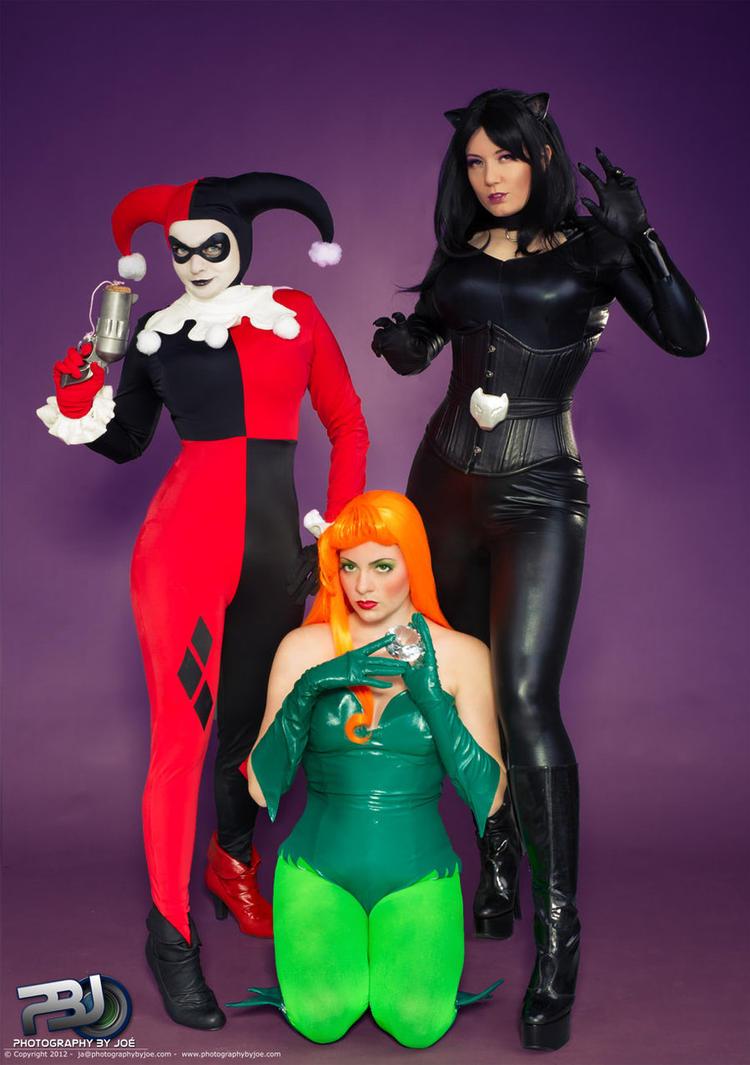 Gotham Sirens (Kapalaka as Poison Ivy) by Kapalaka