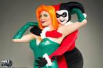Ivy x Harley: Batman TAS Cosplay