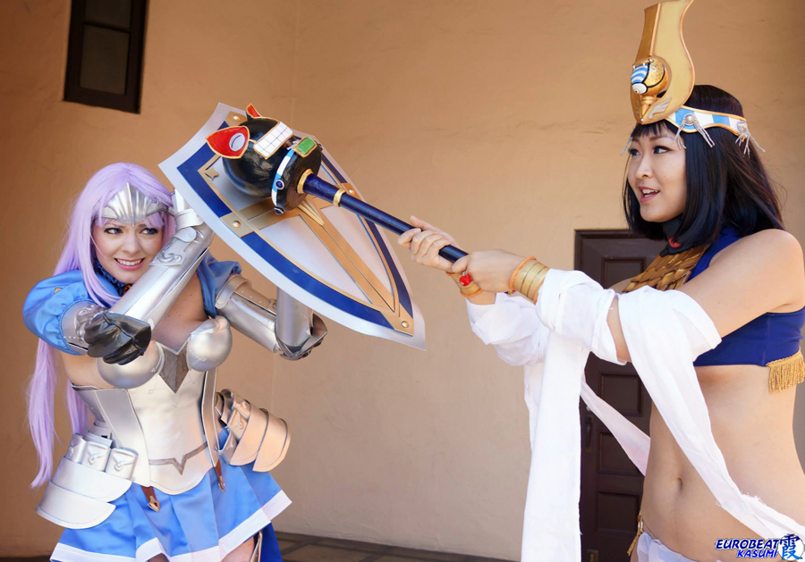 Queen's Blade Rebellion Cosplay By