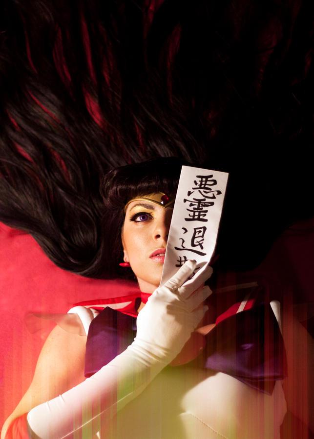 Sailor Mars cosplay - Akuriyo taisan!