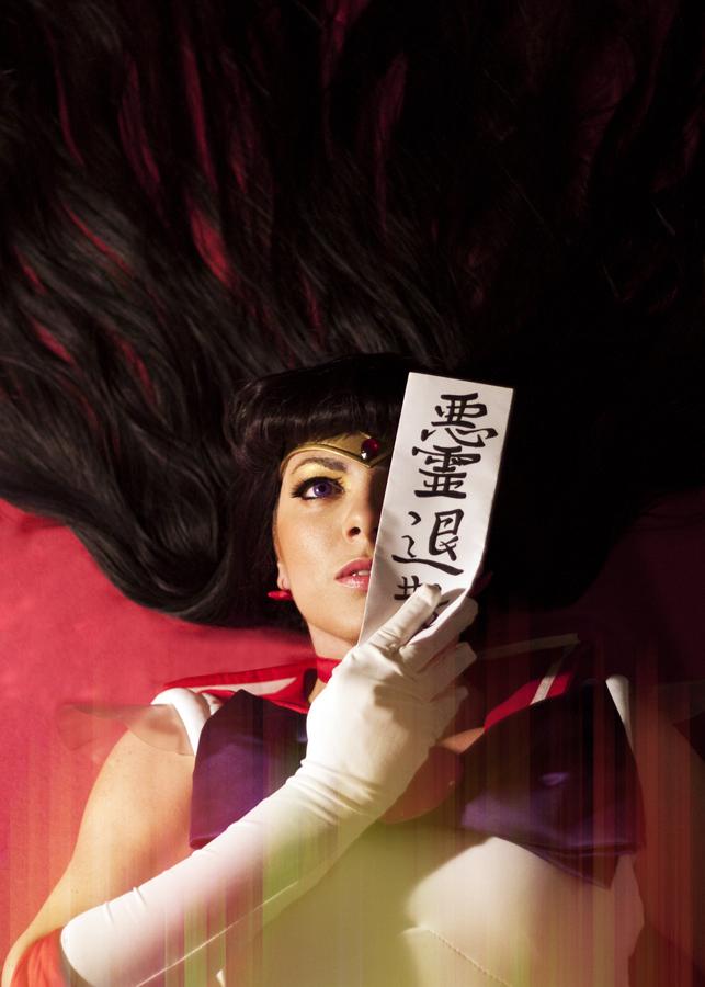 Sailor Mars cosplay - Akuriyo taisan! by Kapalaka