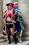 Queen's Blade Cosplay - Liliana and Annelotte