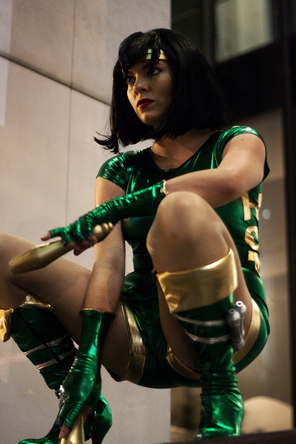 Black Orchid Cosplay f...