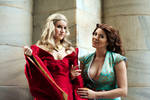 Game of Thrones cosplay - Cersei, Margaery Tyrell