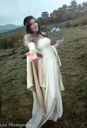 Lyanna Stark of Winterfell - cosplay