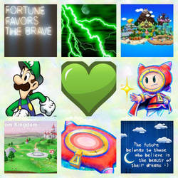 Luigi/Prince Dreambert aesthetic by Inte1eon
