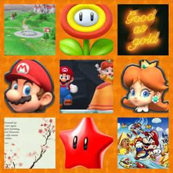 Mario/Princess Daisy aesthetic by Inte1eon