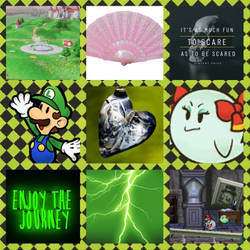 (Paper) Luigi/Lady Bow aesthetic by Inte1eon