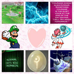 Luigi/White Mage aesthetic by Inte1eon