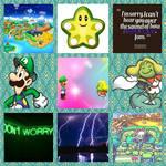 Luigi/Prince Peasley aesthetic by Inte1eon