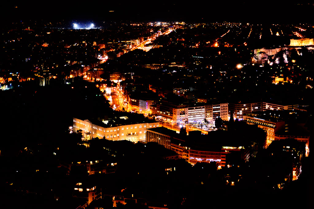 Mesmerizing view from Lycabettus Hill by powertigervfx