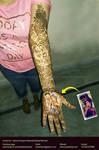 Bridal Mehandi 09_Heena Art by Artist Kamal Nishad by kamalnishad
