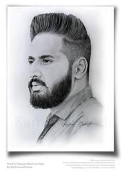 Pencil Portrait Sketch by Artist Kamal Nishad by kamalnishad