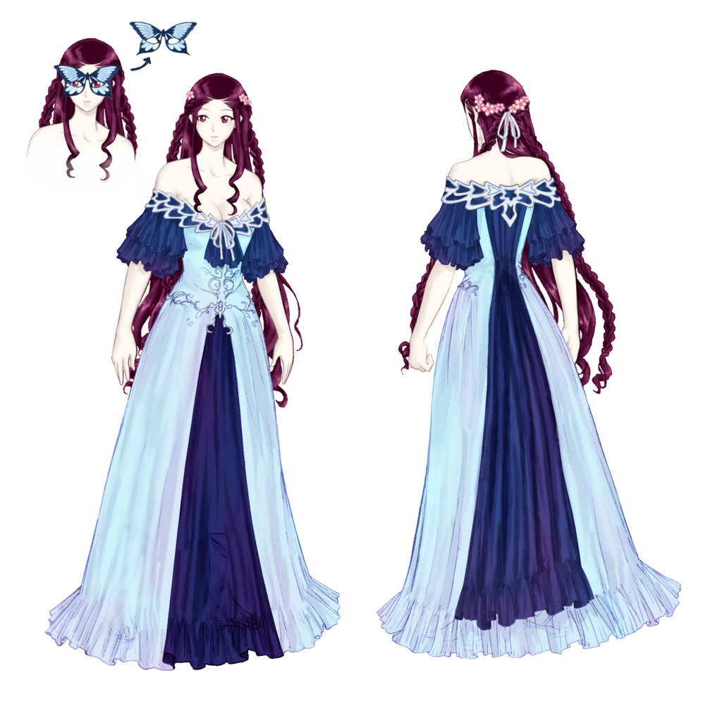 Unique Anime Gown Gift - Ball Gown Wedding Dresses - wietpas.info
