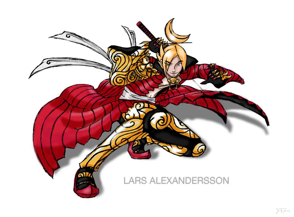tekken 6 - Lars 3P costume by Hwoangtao