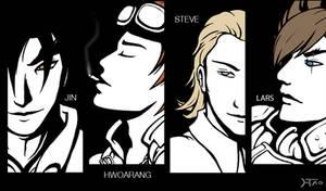 Tekken boys by Hwoangtao