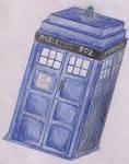TARDIS Drawing