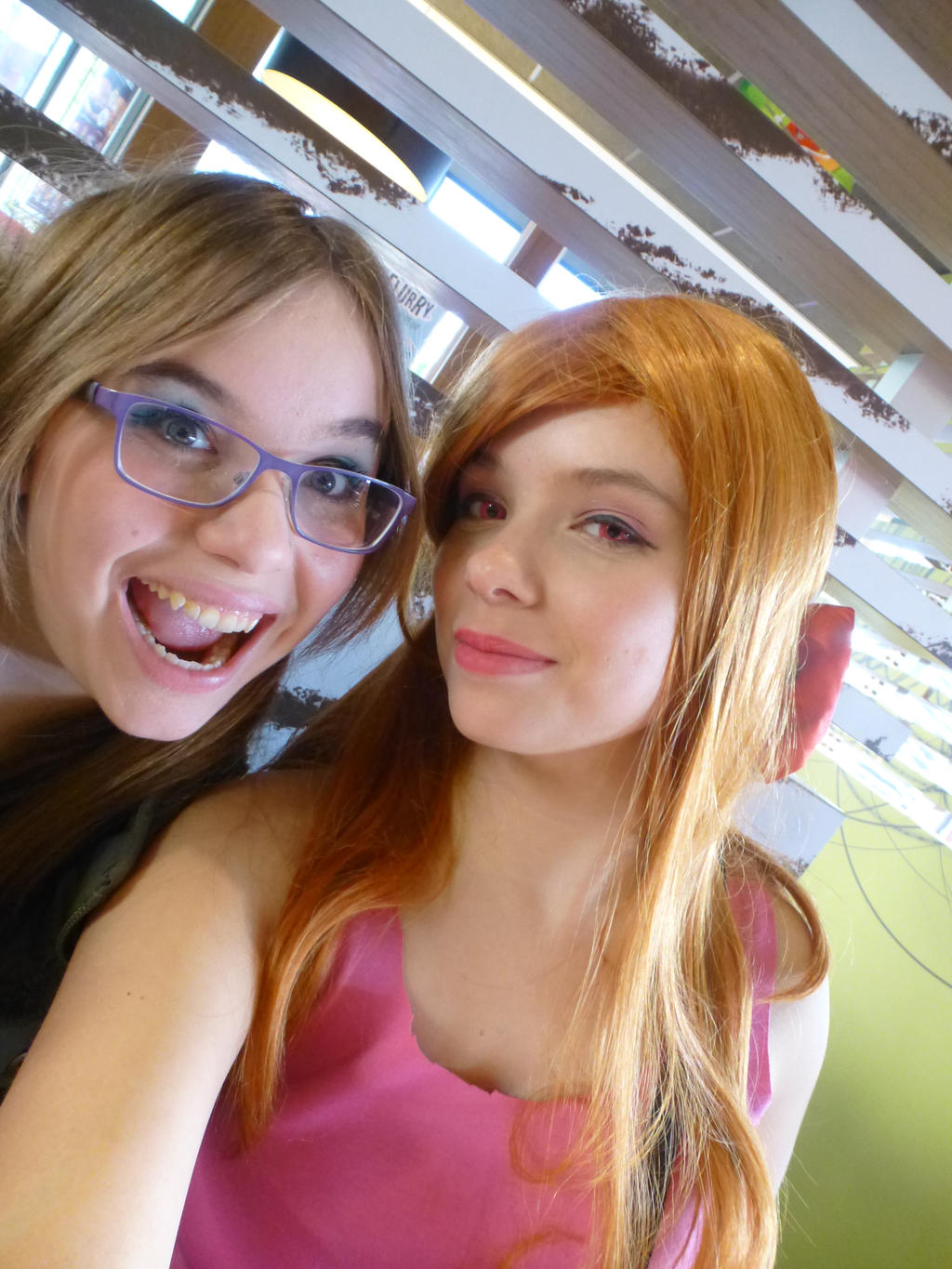 powerpuff girls cosplay lets take a selfie part 2 by aponevee on