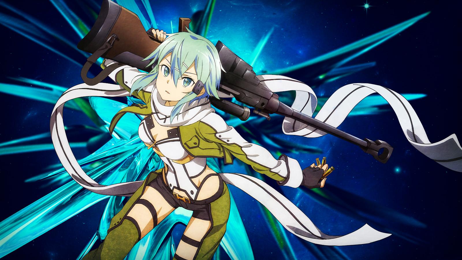 Animepaper 6 Sinon Sword Art Online Ii By Thearteek On Deviantart