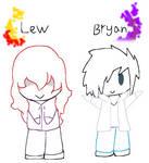 Chibi Lew and Bryan