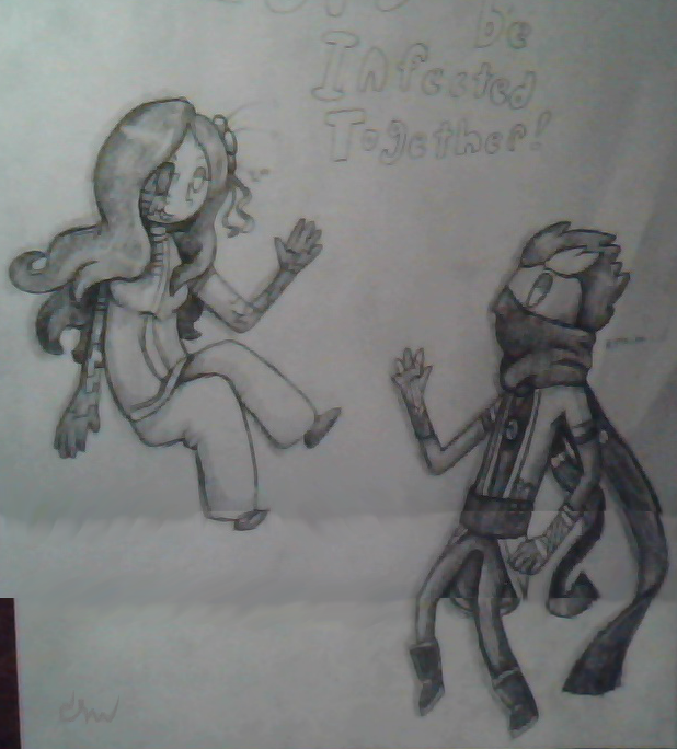 Let's be infected together! Sketch 1