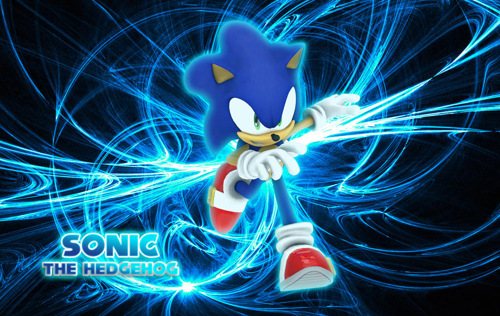 wallpaper sonic blue - photo #11