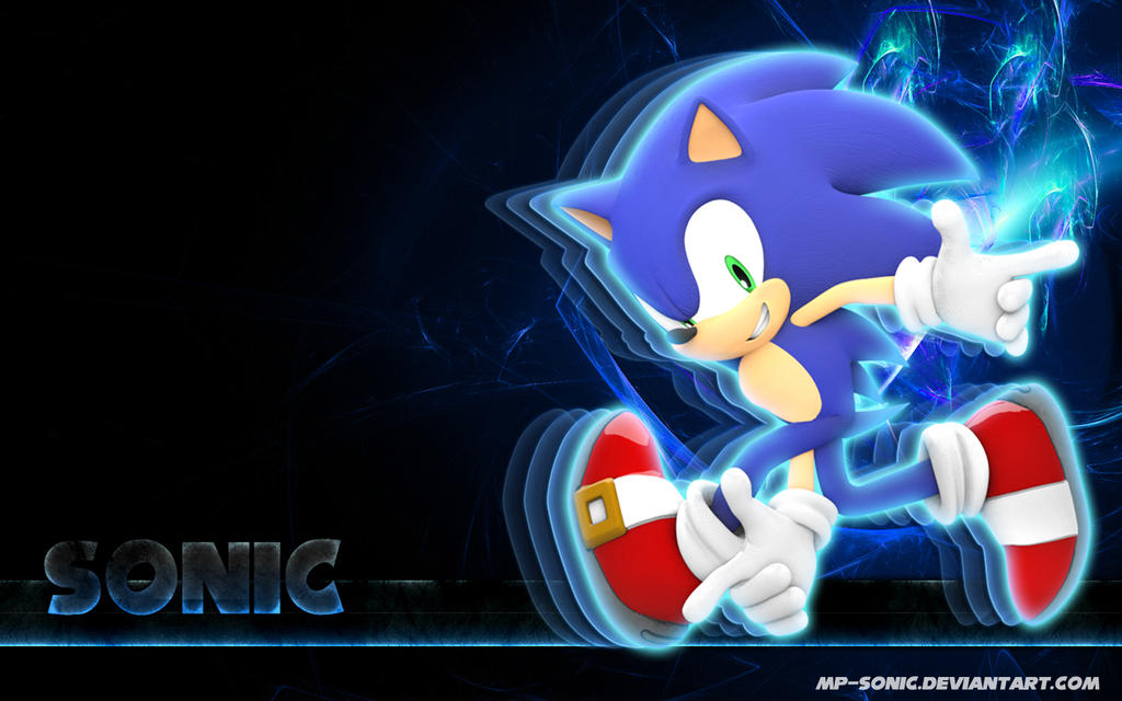 wallpaper sonic blue - photo #40