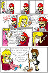 never prank Princess Peach...