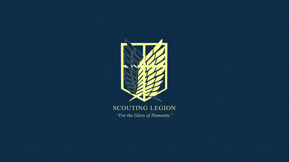 Attack on titan scouting legion wallpaper by imxset21 on deviantart attack on titan scouting legion wallpaper by imxset21 voltagebd Image collections