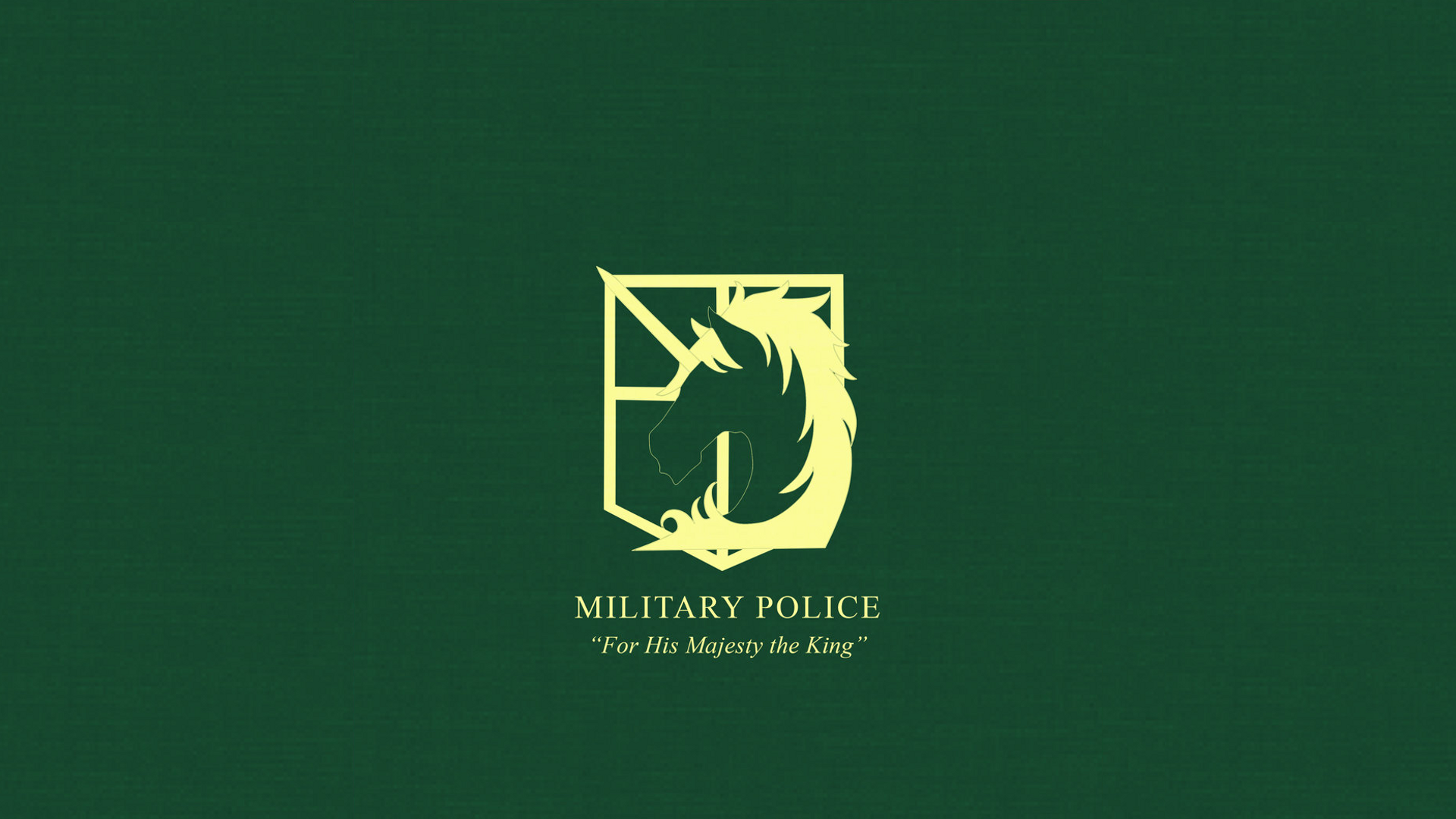 Attack on Titan Military Police Wallpaper by Imxset21