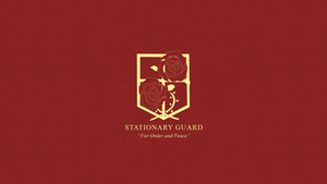 Attack on Titan Stationary Guard Wallpaper