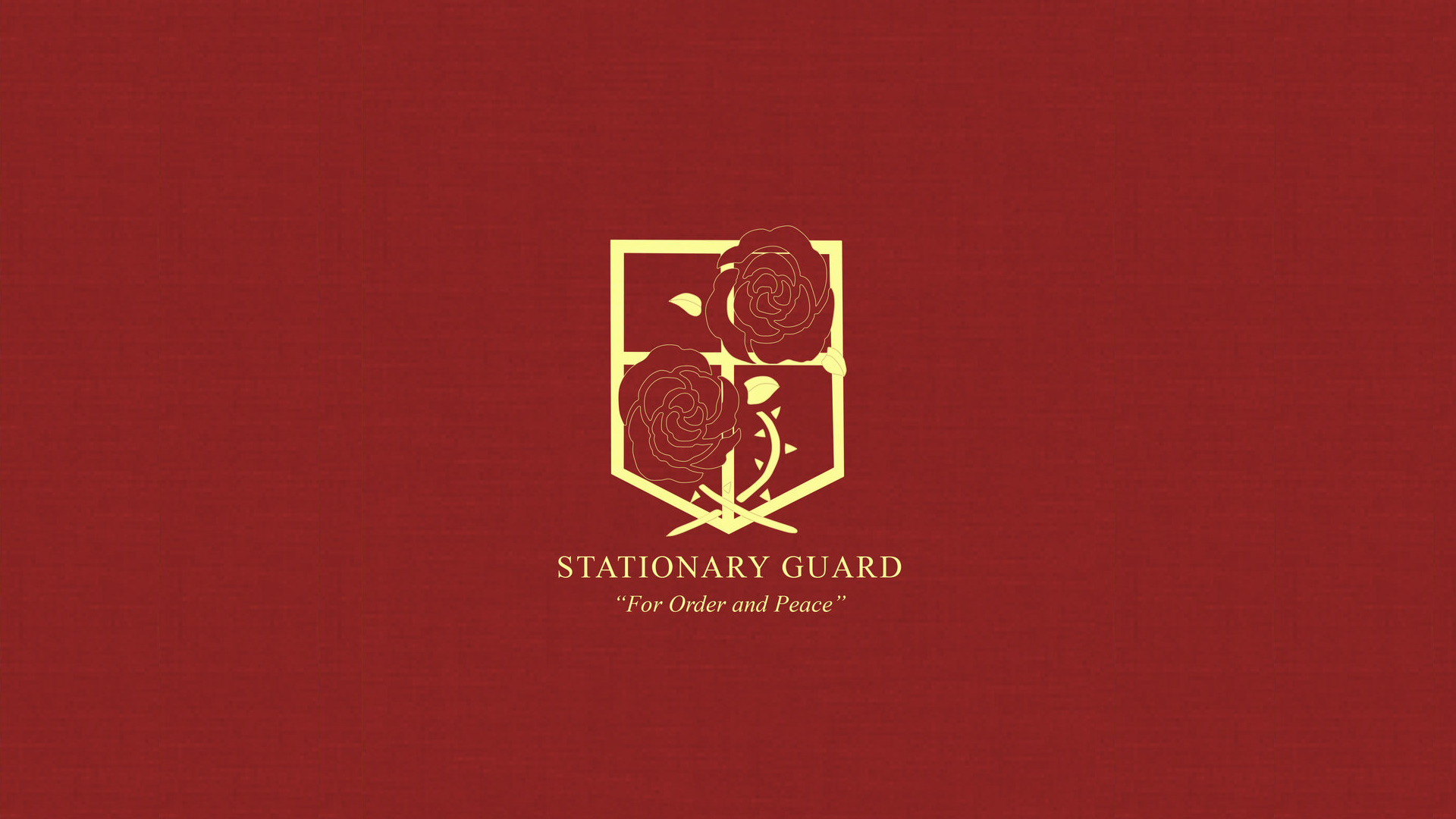 Attack on Titan Stationary Guard Wallpaper by Imxset21
