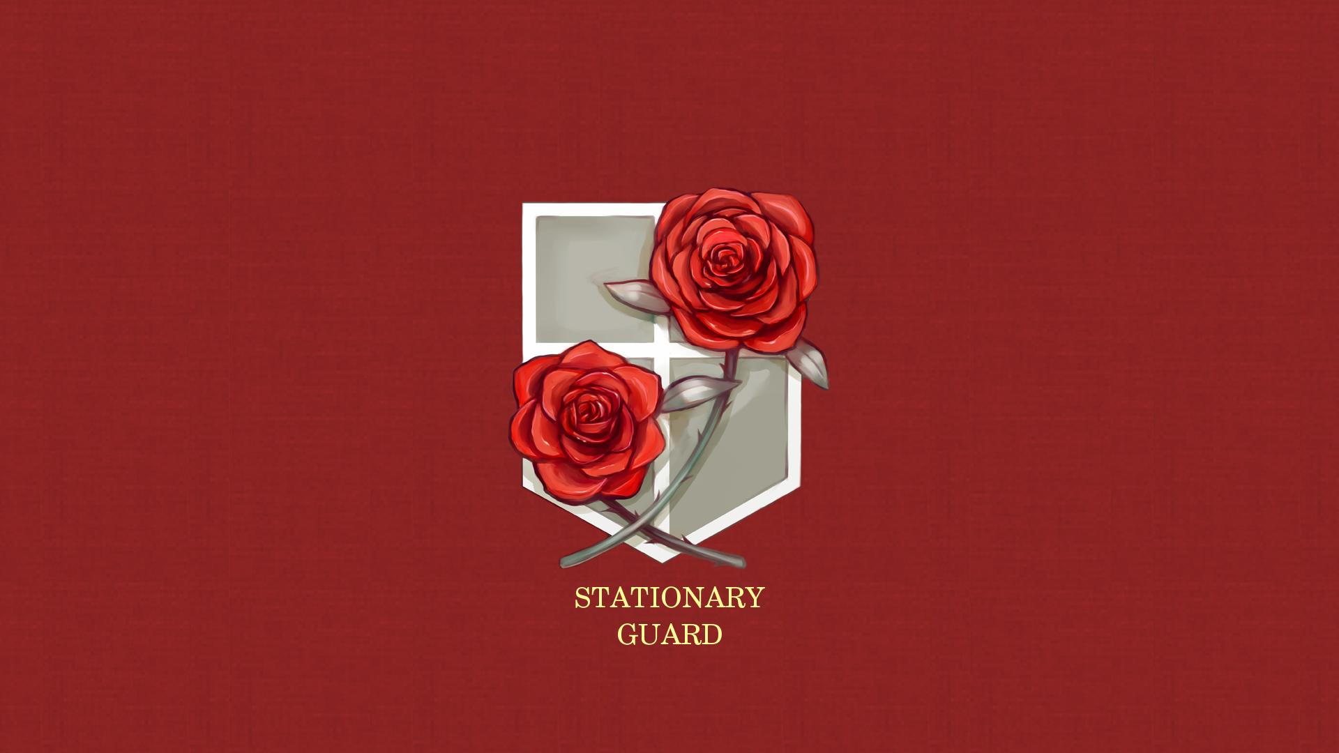 Attack On Titan Stationary Guard Wallpaper Redux By Imxset21 On Deviantart
