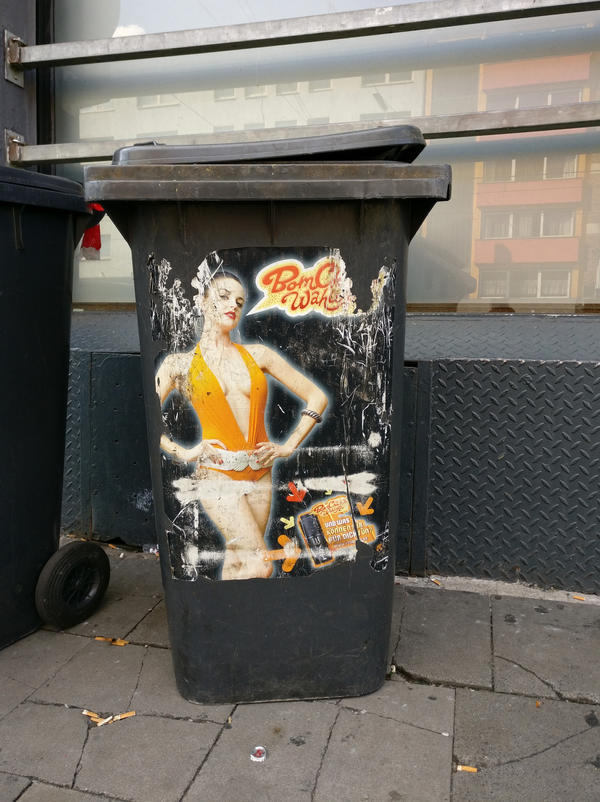 Collecting Cologne 27: Sexismus fuer die Tonne