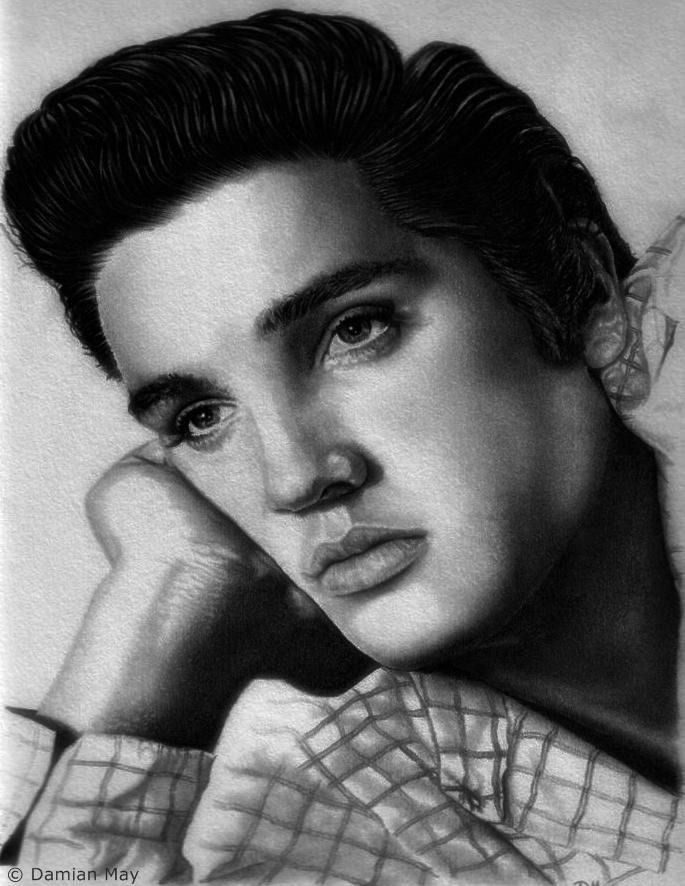 Elvis Presley by orinoco1973