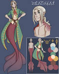 Character Sheet - Fontaine by Ubiquitor