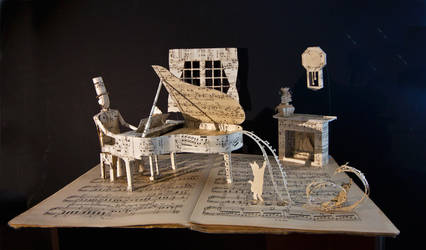 Piano... by KarineDiot