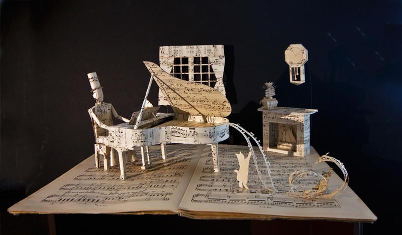 Piano by karinediot on deviantart