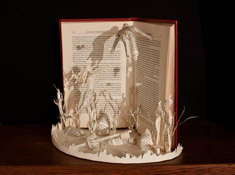 The Little Mermaid Book Sculpture 2
