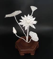 Ikebana Inspiration - Lotus by KarineDiot