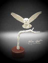 Hedwig Paper Sculpture from Harry Potter