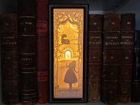 Alice in Wonderland - Paper Light Box