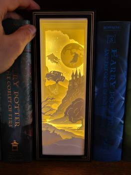 Harry Potter Paper Light Box - Book Nook