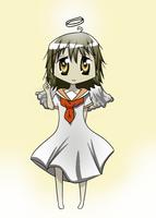 Haibane Renmei Rakka Chibi by Nokami-san